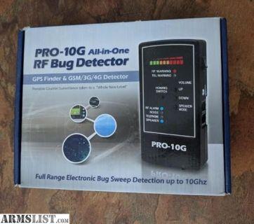 For Sale: Spy - hawk Pro - 10G all in one RF Scanner Bug detector tracker finder