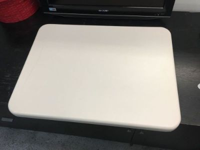 """Buy 1 NEW 19"""" X 25"""" WHITE RV CAMPER TRAILER MOTORHOME TABLE TOP COUNTER motorcycle in Osceola, Indiana, United States, for US $59.99"""