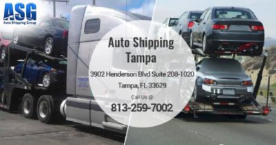Hire Tampa Auto Shipping Services