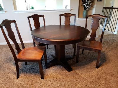 Bassett table and 4 chairs