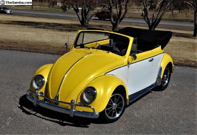 1962 Bug Convertible - mild custom - great driver