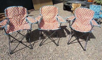 3 nice large chairs comes with bags