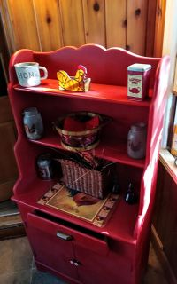 Refinished Hutch/Cabinet