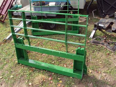 John Deere quick attach style backing plate pallet fork frame NEW