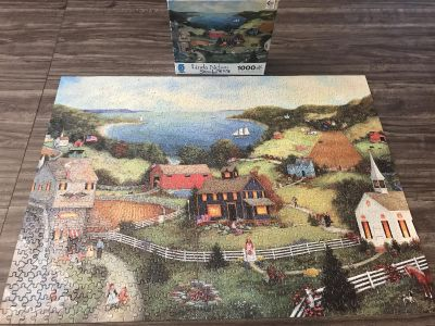 Puzzle! In original box. All pieces are here 1000 pieces