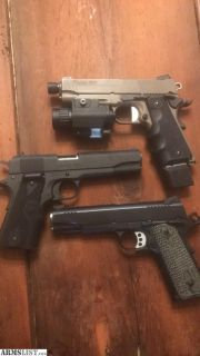 For Sale: Sig scorpion 1911