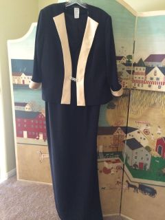Mother of the bride dress size 14 new with tags