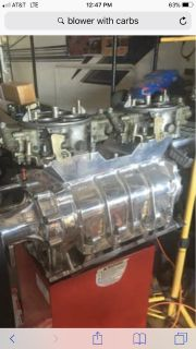 I S O 8-71 Blower with carbs