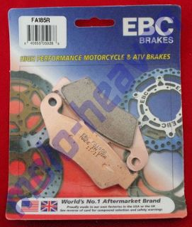 Sell Honda EBC FA185R Front Brake Pads NX 250 XR NX250 XR250 L R 400 NX250 XR400 motorcycle in Sugar Grove, Pennsylvania, United States, for US $29.99