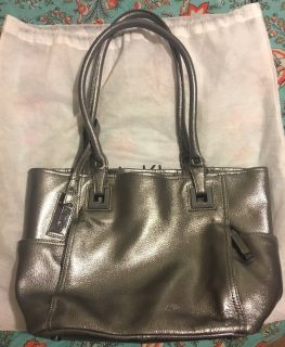 Calvin Klein Metallic Silver Purse (fall/winter)
