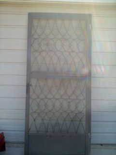 "Screen Door - Handles And Hinges Included - 36"" x 80"""