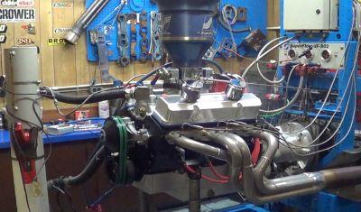 SBC ENGINE: 355 CID, 600+ HP, 7600 RPM