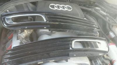Purchase Audi A8 S8 Grill Fog Lights Chrome Grill Pack Audi S8 2008 GENUINE used grille motorcycle in Bridgeview, Illinois, US, for US $300.00