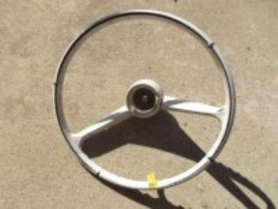 63 Chevy C 10 Truck steering wheel