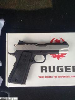 For Sale: Ruger sr1911 lightweight commander