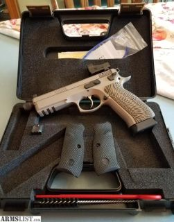 For Sale: CZ 75 SP-01 Tactical in Urban Grey