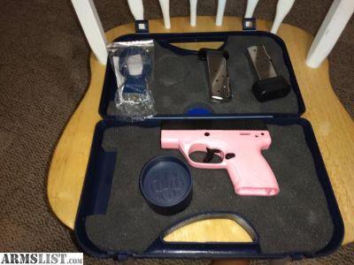 For Sale: Beretta BU9 Nano 9mm pink frame
