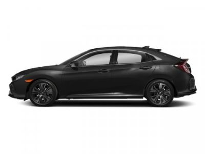 2018 Honda CIVIC HATCHBACK EX-L Navigation (Crystal Black Pearl)