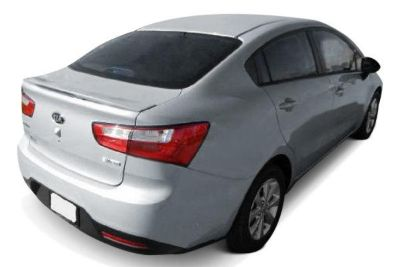 Purchase New 2013 fits Kia Rio Factory Style Spoilers Spoiler & Wings, ABS Plastic motorcycle in Roanoke, Texas, US, for US $134.95