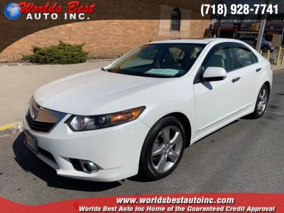 2014 Acura TSX Base w/Tech (Bellanova White Pearl)