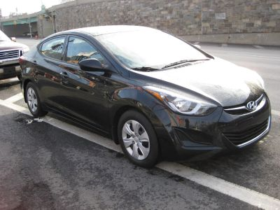 2016 Hyundai Elantra 4dr Sdn Auto SE (Alabama Plant (Black)