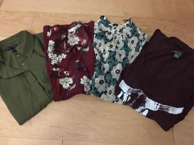 Lot of cute tops size small