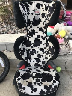 Britax booster seat with back