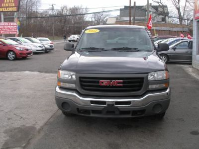 2003 GMC Sierra 1500 Work Truck (Gray)