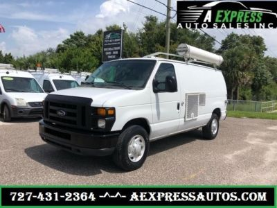 2008 Ford E-350 E-350 SD (White)