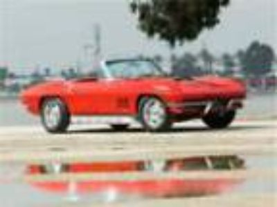 1967 Chevrolet Corvette L71 427/435 XXXX RALLY RED, Red Int