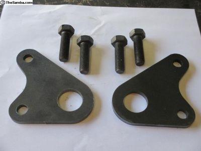 Strap Fasteners (Rear swing axle)