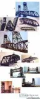 Custom Built Model Bridges for Layouts or Display