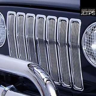 Find 11401.02 RUGGED RIDGE Billet Grille Inserts, Chrome, 97-06 Jeep Wranglers, by motorcycle in Smyrna, Georgia, US, for US $130.73