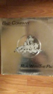 BAD COMPANY ( run with the pack) 33 rpm LP