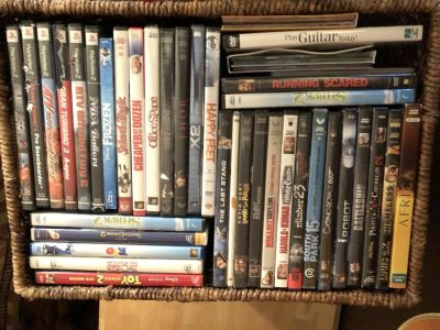 Lots and lots of movies!