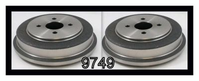 Purchase P9749 Brake Drums - Set of 2!! motorcycle in Cadillac, Michigan, US, for US $64.26