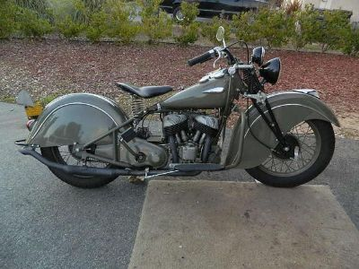 $3,890, 1940 Indian Sport Scout completely restored