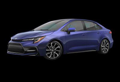 2020 Toyota Corolla SE (Blue Crush Metallic)