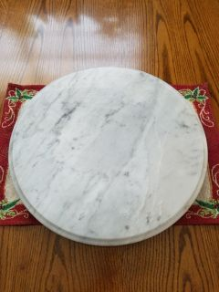 Marble like Turntable Nice for parties
