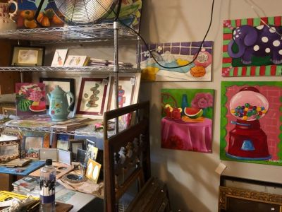 Amazing Artist/Collector's Garage Sale After Huge Move!!