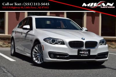 2016 BMW 5-Series 4dr Sdn 528i xDrive AWD (Alpine White)