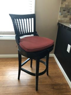 Set of two bar chairs