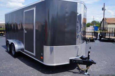 7 X 16 ENCLOSED TRAILER...2019 COVERED WAGON