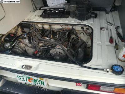 Vanagon 2.1 Liter Engine