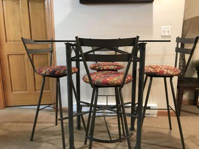 Bar Stool Direct quality bar height table & stools