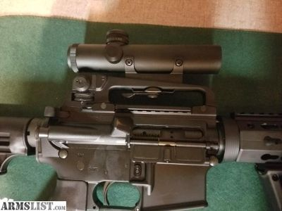 For Sale/Trade: Ar15 carry handle and scope