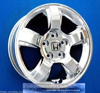 "Sell HONDA PILOT ODYSSEY ACCORD ELEMENT CIVIC CR-V 16 INCH CHROME WHEELS RIMS 16"" motorcycle in Newbury Park, California, US, for US $1,395.00"