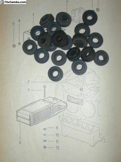 NOS Type 3 Oil Cooler Seals 311117151A