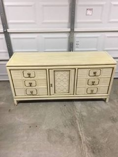 Solid Wood French Provincial Dresser / Credenza