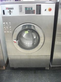 Heavy Duty IPSO Front Load Washer 50 LB 3PH for OPL